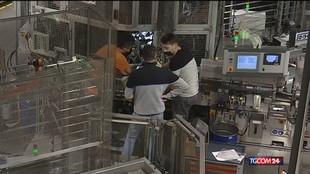 Istat, produzione industriale in lieve flessione