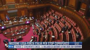 Breaking News delle 16.00 | Mozione Lega-Forza Italia per stop coprifuoco