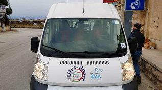 Trani, rubato il furgone dei ragazzi disabili della nazionale di calcio
