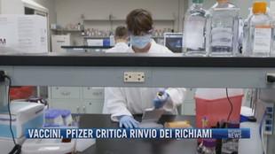 Breaking News delle 21.30 | Vaccini, Pfizer critica rinvio dei richiami