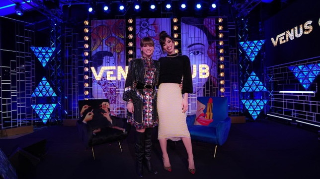 """""""Venus Club"""", Alessandra Amoroso e Francesca Manzini ospiti della seconda puntata"""