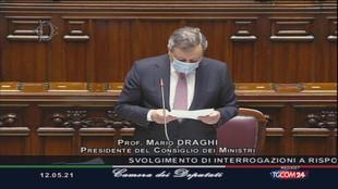 """Draghi: """"Sui matrimoni serve ancora pazienza»"""