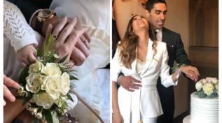 Giorgia Palmas e Filippo Magnini hanno detto sì: guarda le foto
