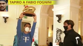 """Tapiro d'oro a Fabio Fognini: """"Almeno quest'anno un trofeo l'ho vinto"""""""