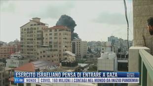 Breaking News delle 11.00 | Esercito israeliano pensa di entrare a Gaza