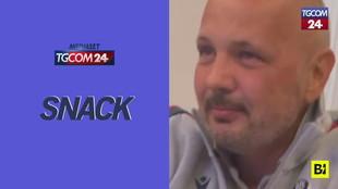 """""""Ciao nonno"""": la sorpresa che commuove Sinisa Mihajlovic"""