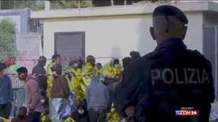 Lampedusa, sos migranti sull'isola