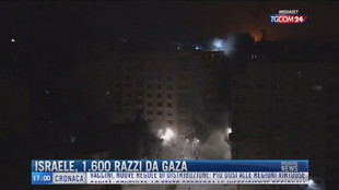 Breaking News delle 17.00 | Israele, 1.600 razzi da Gaza