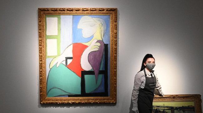 A New York quadro di Picasso venduto all'asta per 103,4 mln dollari