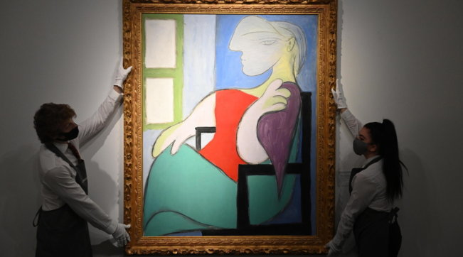 A New York quadro di Picasso venduto all'asta per 103,4 mln dollari