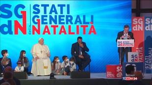 """Draghi: """"Un'Italia senza figli non ha futuro"""""""