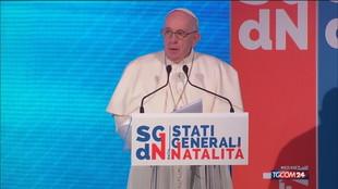 """Papa Francesco: """"I figli sono la speranza che fa rinascere un popolo"""""""