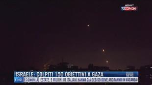 Breaking News delle 11.00 | Israele: colpiti 150 obiettivi a Gaza
