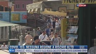 Breaking News delle 16.00 | Covid, ISS: Nessuna regione a rischio alto