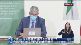 Breaking News delle 17.00 | ISS: curva in progressiva decrescita