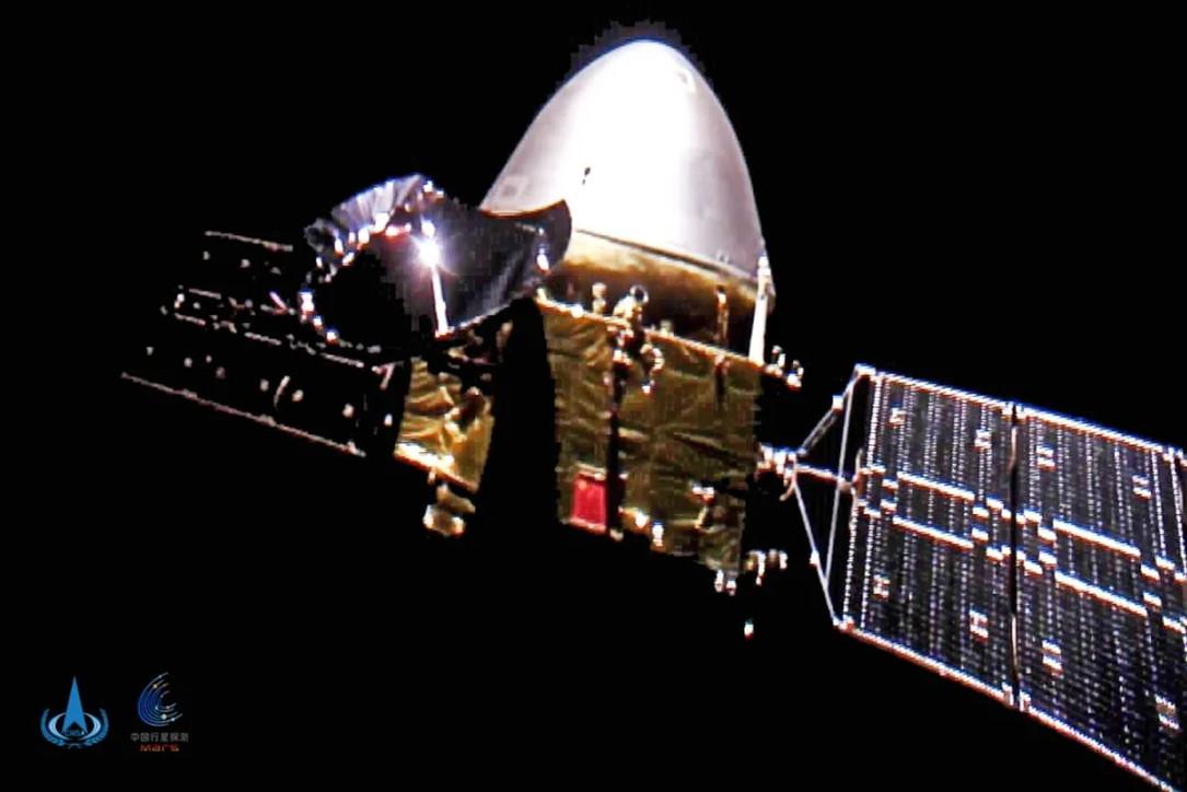 La sonda cinese Tianwen-1 arriva su Marte