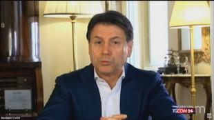 """Conte,: """"Il cammino con Pd e Leu continui"""""""