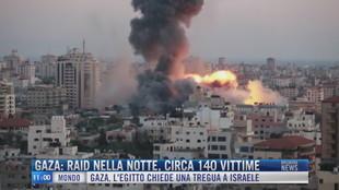Breaking News delle 11.00 | Gaza: raid nella notte, circa 140 vittime