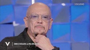 "Enrico Ruggeri si racconta a ""Verissimo"" tra carriera, droghe e famiglia"