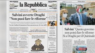 """Letta: """"Se Salvini non vuole le riforme esca dalla maggioranza"""""""