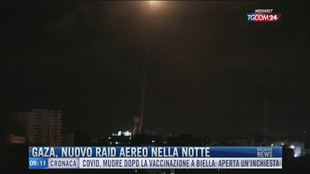 Breaking News delle 09.00 | Gaza, nuovo raid aereo nella notte