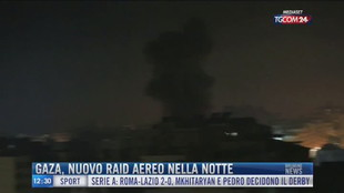Breaking News delle 12.00 | Gaza, nuovo raid aereo nella notte
