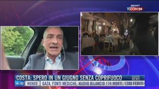 Breaking News delle 16.00 | Costa: spero in un giugno senza coprifuoco