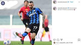 """Juve-Inter, Brozovic non ci sta:""""Scandaloso"""". Anche Perisic polemico"""