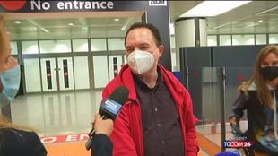 Primi arrivi a Fiumicino dall'estero senza obbligo quarantena
