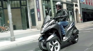 Uno scooter, tre declinazioni