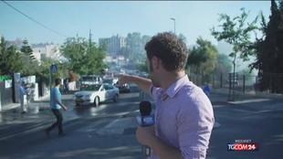 Israele, proiettili di gomma sulla troupe dell'inviato News Mediaset Elia Milani: il video della diretta di Tgcom24