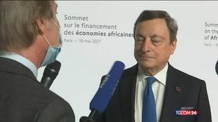 """Draghi: """"La strategia è vaccinare e continuare a osservare le regole"""""""