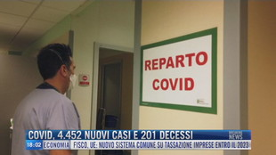 Breaking News delle 18.00   Covid, 4.452 nuovi casi e 201 decessi