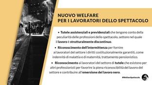 Sostegni bis, ecco le misure del nuovo welfare per i lavoratori dello spettacolo