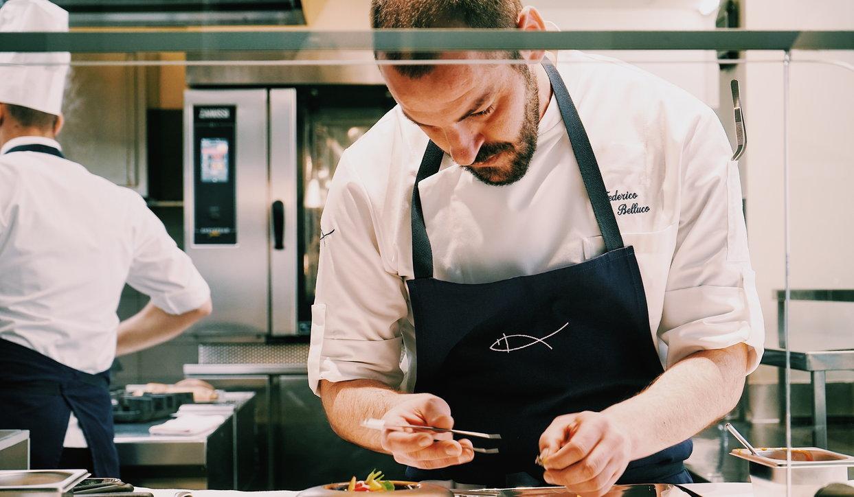 Federico Belluco, chef classe '88