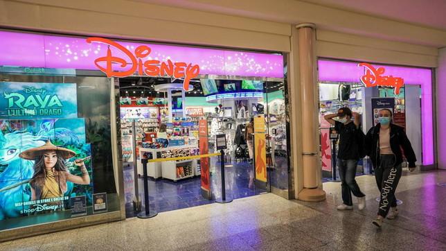 La Disney chiude tutti i suoi negozi in Italia