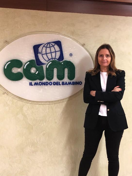 Monica Rho,Direttore Comunicazione e Marketing di Cam Il Mondo del Bambino