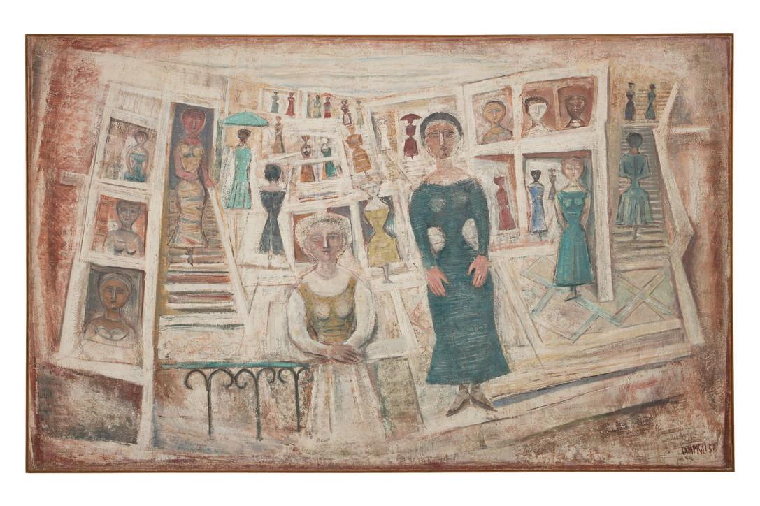 """A Venezia la mostra """"Massimo Campigli e gli Etruschi - Una pagana felicità"""""""