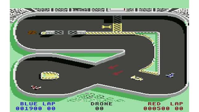 Super Sprint - Atari - Retrogaming