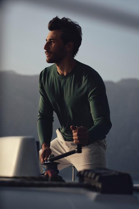 Moda e sport, Falconeri veste il campione di vela Ruggero Tita