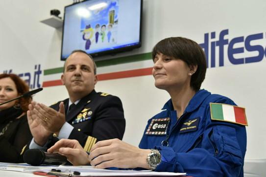 Samantha Cristoforetti prima europea al comando della Iss