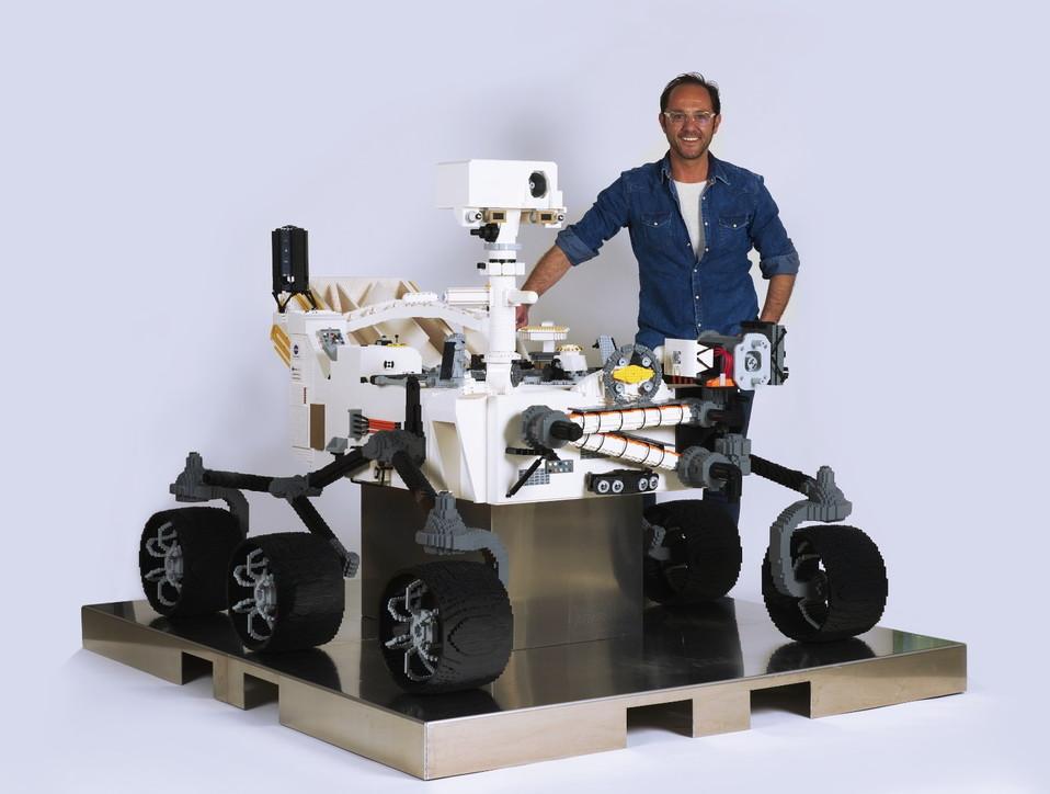 Il Rover Perserverance della Nasadi Lego