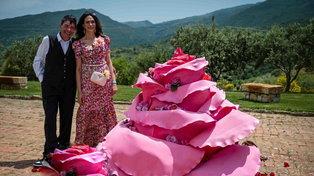 Festa delle Rose: alla tenuta Fiasconaro una giornata conMaria Grazia Cucinotta