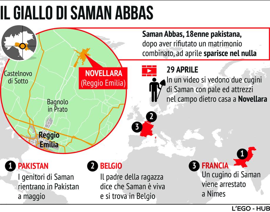 Il caso Saman Abbas: quello che sappiamo finora della ragazza pakistana scomparsa