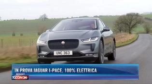 In prova Jaguar I-Pace, suv 100% elettrico