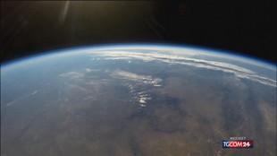 Bezos nello spazio