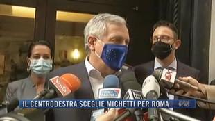 Breaking News delle 21.30 | Il centrodestra sceglie Michetti per Roma