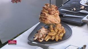 Kebab di pollo e Bao burgher