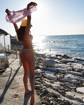 Francesca Sofia Novello lascia i fan senza fiato