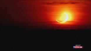 Ecco la prima eclissi solare dell'anno